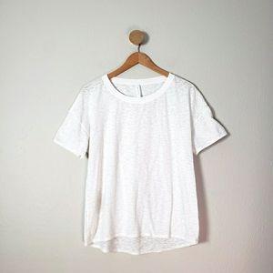 Lululemon Marbled Sheer Tee Shirt Top